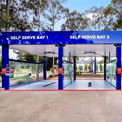 Self Serve enacon car wash
